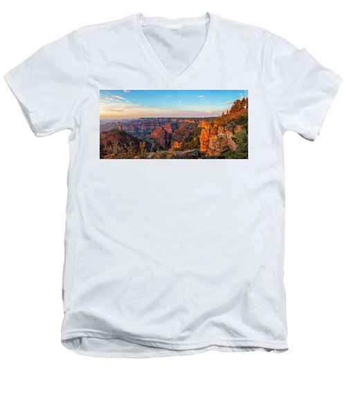 Point Imperial Sunrise Panorama II Men's V-Neck T-Shirt
