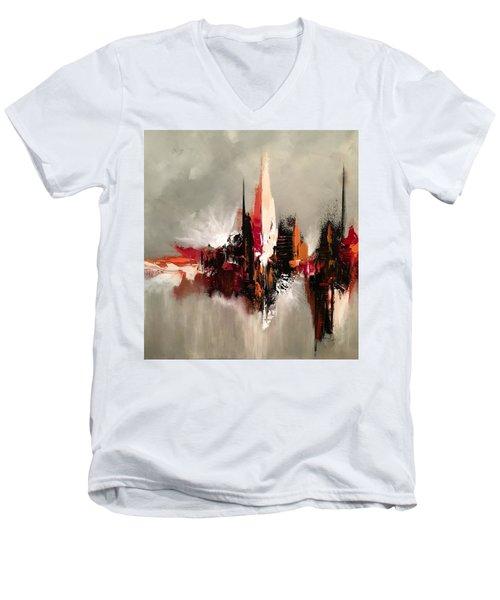 Point Of Power Men's V-Neck T-Shirt