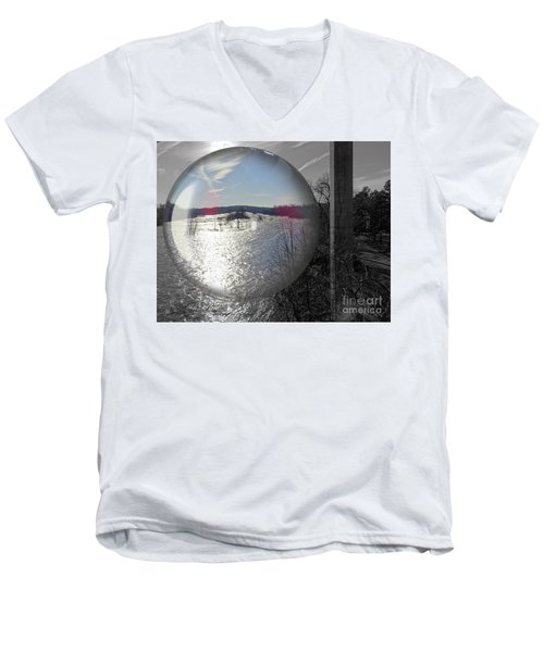 Point Of View Men's V-Neck T-Shirt by Melissa Messick