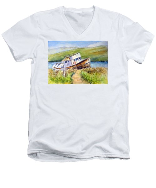 Point Reyes Relic Men's V-Neck T-Shirt