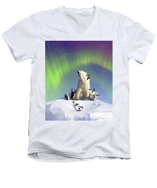 Polar Opposites Men's V-Neck T-Shirt