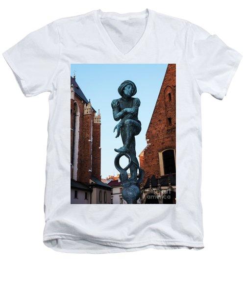 Polish Sprite Men's V-Neck T-Shirt