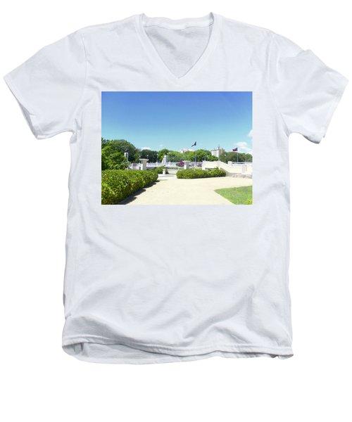 Ponce's Ecological Park Men's V-Neck T-Shirt
