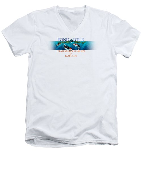 Pond Tour Men's V-Neck T-Shirt