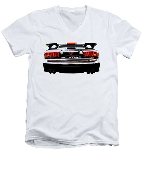 Pontiac Trans Am Rear Lights Men's V-Neck T-Shirt