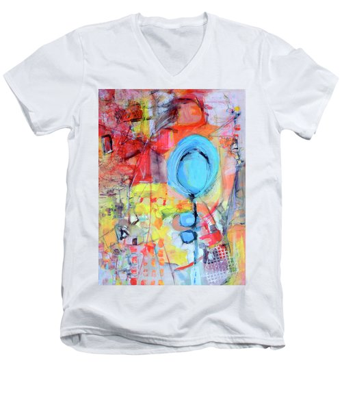 Pools Of Calm Men's V-Neck T-Shirt