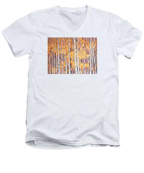 Poplar Forest Men's V-Neck T-Shirt