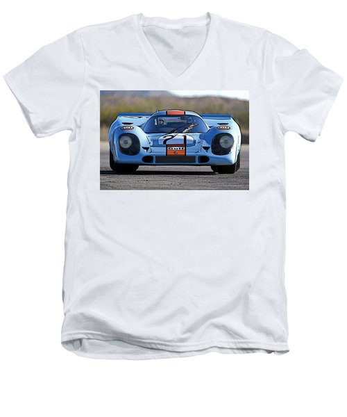 Porsche 917 Shorttail Men's V-Neck T-Shirt
