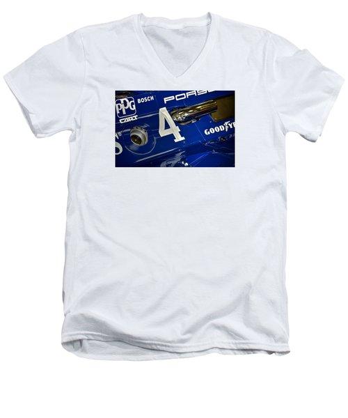 Porsche Indy Car 21167 Men's V-Neck T-Shirt