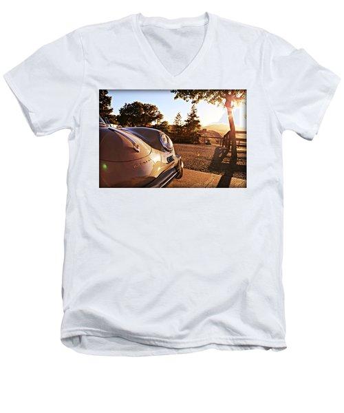 Porsche Sundown Men's V-Neck T-Shirt