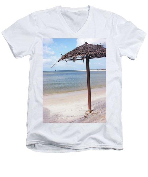 Port Gentil Gabon Africa Men's V-Neck T-Shirt