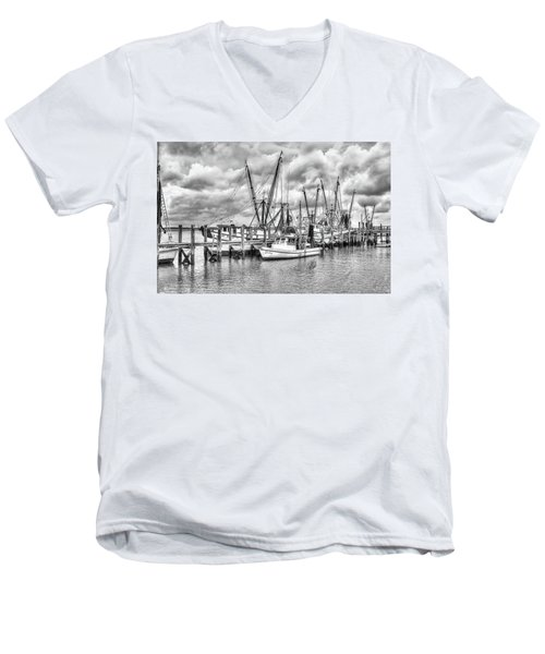 Port Royal Docks Men's V-Neck T-Shirt