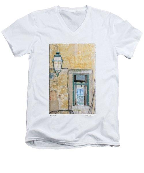 Porto Window Men's V-Neck T-Shirt