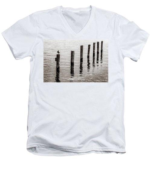 Post Men's V-Neck T-Shirt