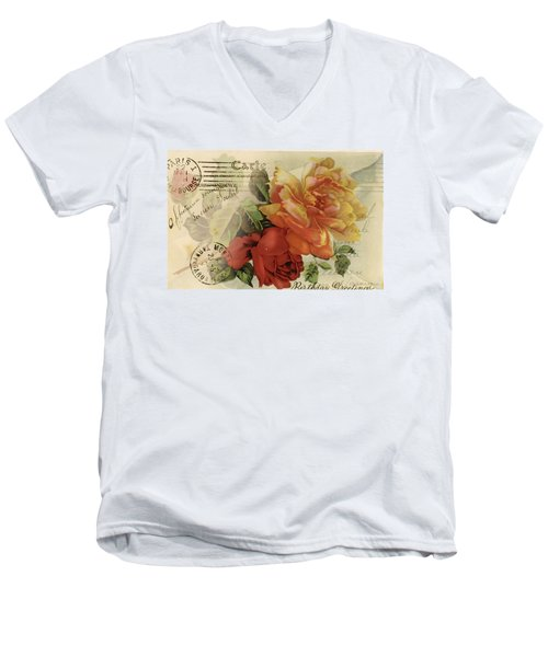 Postal Men's V-Neck T-Shirt