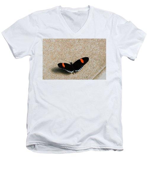 Postman Butterfly Men's V-Neck T-Shirt