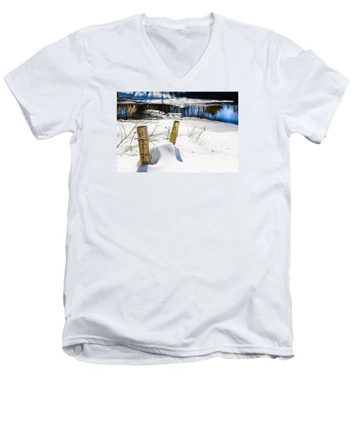 Posts In Winter Men's V-Neck T-Shirt