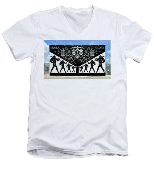 Power And Glory Men's V-Neck T-Shirt
