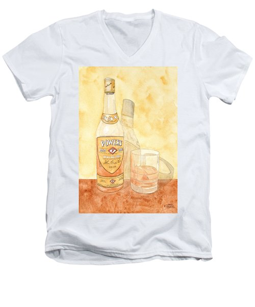 Powers Irish Whiskey Men's V-Neck T-Shirt