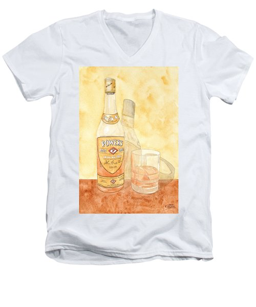 Powers Irish Whiskey Men's V-Neck T-Shirt