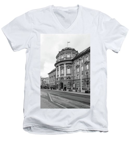 Poznan University Of Medical Sciences Men's V-Neck T-Shirt