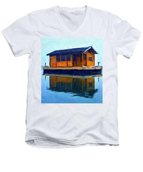 PR2 Men's V-Neck T-Shirt