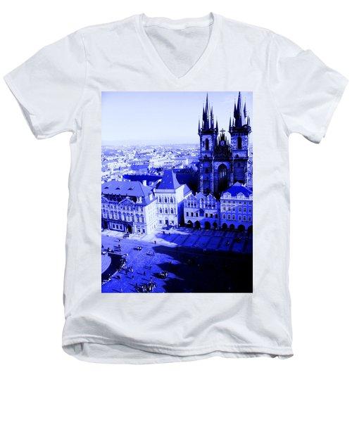 Prague Cz Men's V-Neck T-Shirt