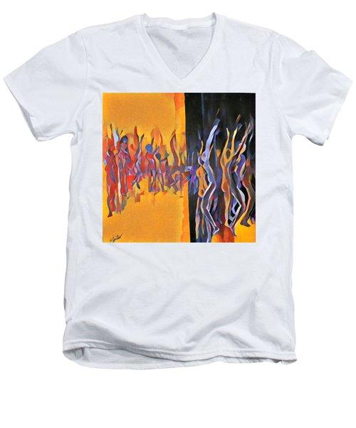 Praise Ye Men's V-Neck T-Shirt