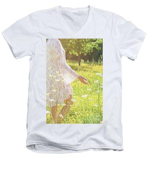 Present Moment.. Men's V-Neck T-Shirt