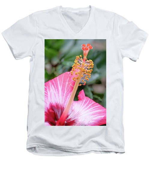 Pretending To Be In Hawaii.... Men's V-Neck T-Shirt