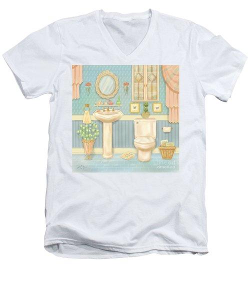 Pretty Bathrooms Iv Men's V-Neck T-Shirt