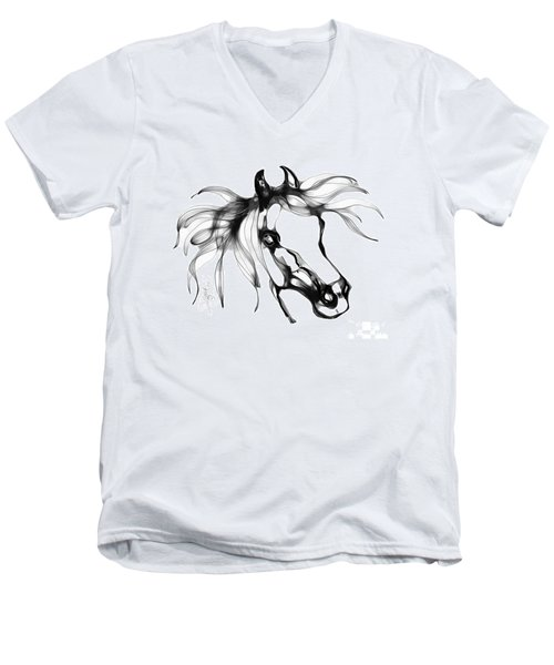 Pretty Filly's Ears Men's V-Neck T-Shirt