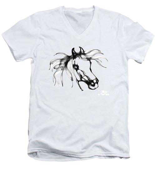 Pretty Filly's Ears Men's V-Neck T-Shirt