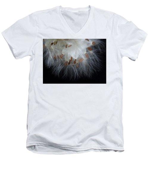Pretty Seeds -ugly Weeds Men's V-Neck T-Shirt