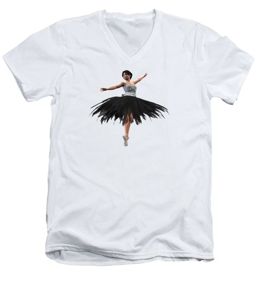 Prima Donna Men's V-Neck T-Shirt by Methune Hively