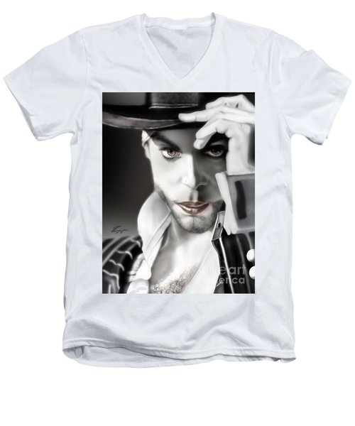 Prince The Eyes Have It 1a Men's V-Neck T-Shirt