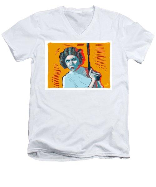 Princess Leia Men's V-Neck T-Shirt