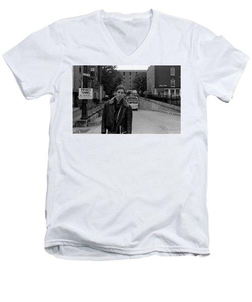 Private Tunnel, 1972 Men's V-Neck T-Shirt