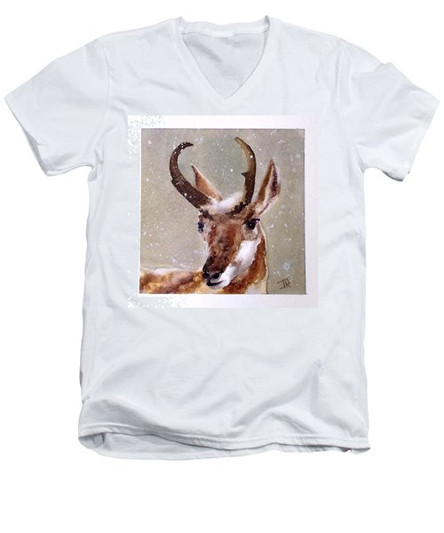Pronghorn Men's V-Neck T-Shirt