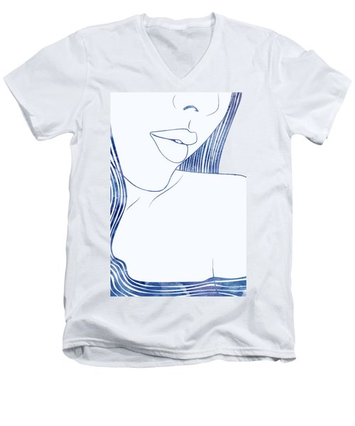 Pronoe Men's V-Neck T-Shirt