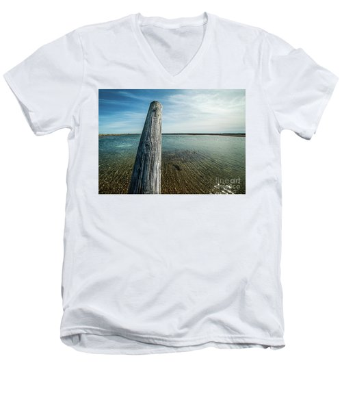 Provincetown Breakwater #2 Men's V-Neck T-Shirt