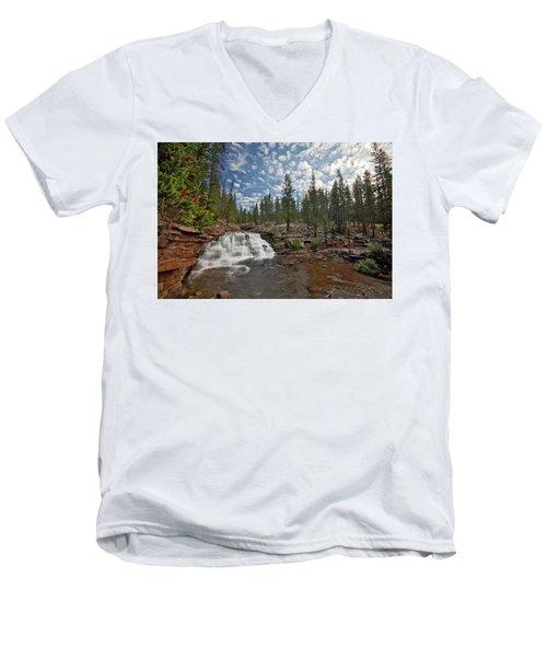 Provo River Falls Men's V-Neck T-Shirt