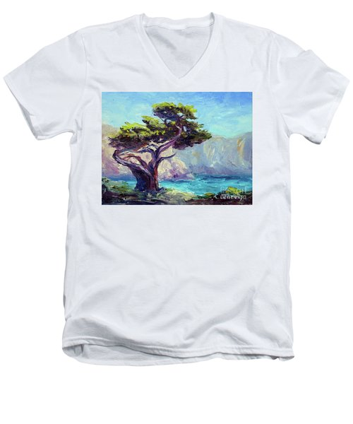 Pt. Lobos Beauty Men's V-Neck T-Shirt