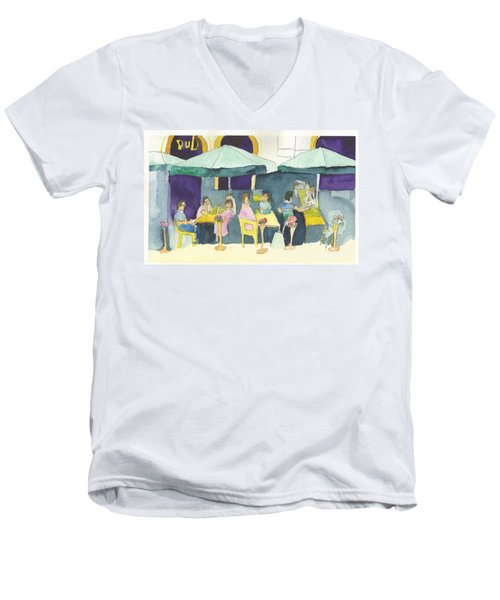 Pub In Harry Hjornes Plats Men's V-Neck T-Shirt