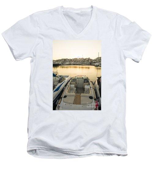 Puerto Banus Men's V-Neck T-Shirt