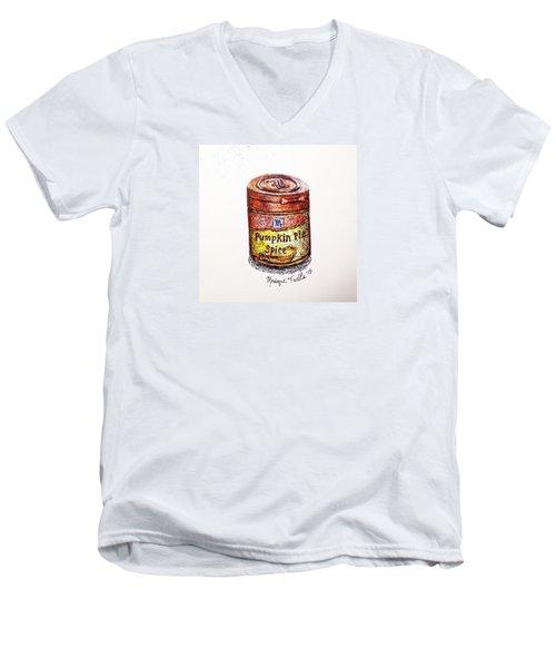 Pumpkin Pie Spice Men's V-Neck T-Shirt