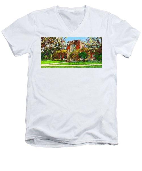 Purdue University Men's V-Neck T-Shirt