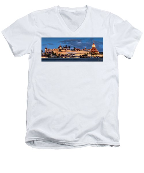 Pure And Simple Pano 48x18.5 Men's V-Neck T-Shirt