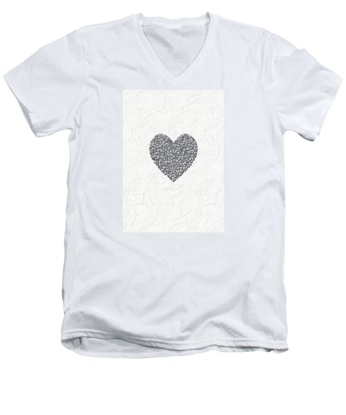 Pure Love Men's V-Neck T-Shirt