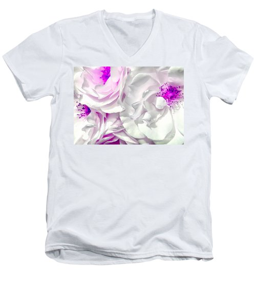 Purple Essence Men's V-Neck T-Shirt